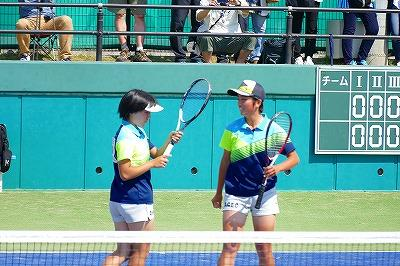 ソフトテニス インターハイ 女子